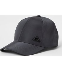 river island mens grey ri branded nylon cap