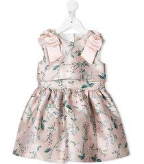 hucklebones london ribbon bodice dress - pink