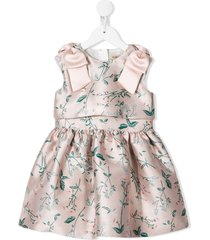 hucklebones london ribbon bodice dress - pink