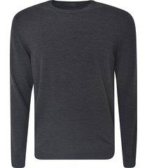 classic ribbed sweater zanone