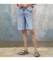 sundance catalog women's jill embroidered shorts in chamomile 28