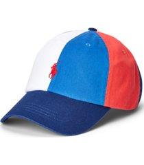 polo ralph lauren men's colorblocked cap