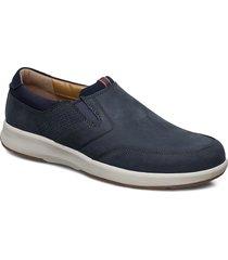 un trail step loafers låga skor blå clarks