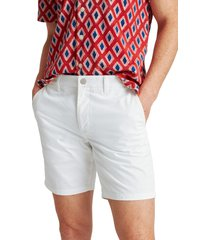 bonobos stretch washed chino 7-inch shorts, size 40 in bright white at nordstrom