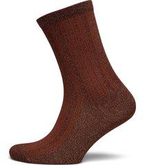 slflana sock b lingerie socks regular socks röd selected femme
