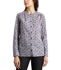 poplin cotton floral shirt