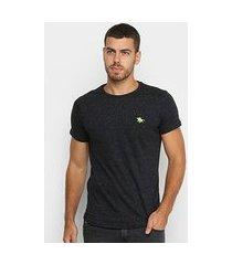 camiseta polo rg 518 lisa botonê masculina