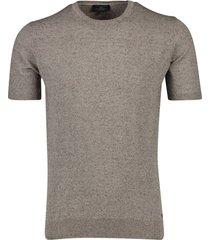 cavallaro t-shirt ascanio bruin gemeleerd