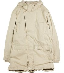 giubbotto parka peached canvas