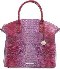 brahmin duxbury large leather satchel
