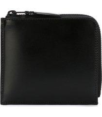 comme des garçons wallet 'classic plain' purse - black
