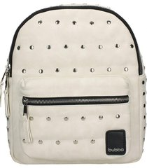 mochila rock  unique white blanco bubba bags