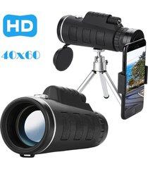 zoom óptico hd lente monocular telescopio trípode-negro