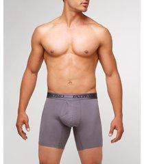 pantaloncillo boxer medio para hombre gris s