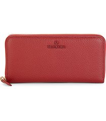 farley dollaro pebbled leather continental wallet