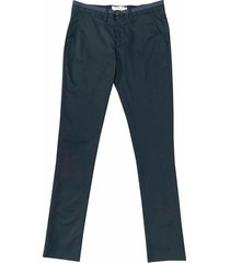 pantalón business casual unicolor 903 slim fit para hombre 94181