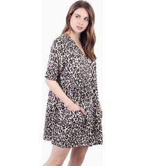 vestido capri animal print jacinta tienda