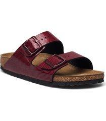 arizona shoes summer shoes flat sandals röd birkenstock