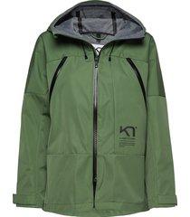 bavallen jacket parka lange jas jas groen kari traa