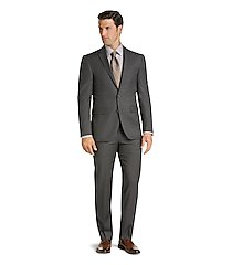 traveler collection slim fit micro check men's suit separate jacket by jos. a. bank
