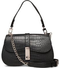 asher shoulder bag bags top handle bags zwart guess