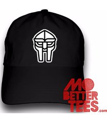doom metal face mf dad hat baseball cap choose from black or white