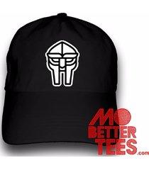 doom metal face mf dad hat baseball cap choose from black or white