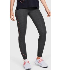 calza under armour favorite graphic legging gris - calce ajustado