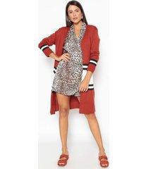 trench coat espaã§o de moda tricot - bege - feminino - dafiti