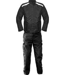 traje de dotación en lona marcopolo anti-fricción para moto mensajero