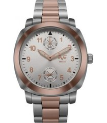 reloj mujer bicolor 19v69 italia