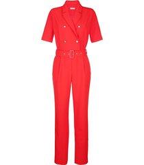 jumpsuit alba moda röd