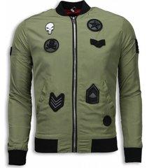 maximal bomberjack bomberjack military skull patches