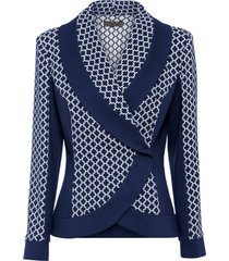blazer corto (blu) - bpc selection