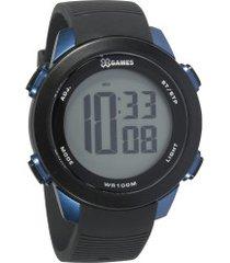 relógio digital x games xmppd596 - masculino - preto