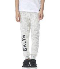 pantalon buzo gris melange corona
