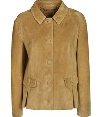 classic button jacket