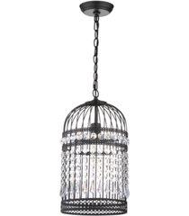 "safavieh ellison bird cage 10"" dia adjustable pendant"