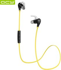 audífonos bluetooth manos llibres inalámbricos, qy5 deportes auriculares inalámbricos audifonos bluetooth manos libres  4.1 auriculares para iphone android (amarillo)