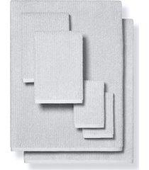 boll & branch 6-piece organic cotton spa towel set, size bath sheet - grey