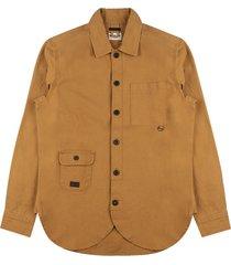 canvas chore wheat shirt