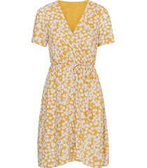 omlottklänning vmmolly s/s wrap dress