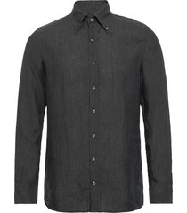 harry 3 slim shirt wash overhemd casual grijs oscar jacobson