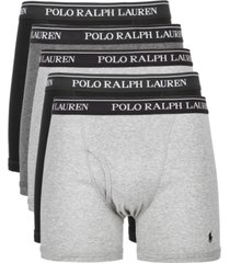 polo ralph lauren men's 5-pk. cotton classic boxer briefs
