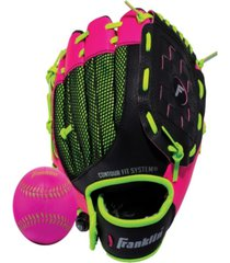 "franklin sports 9.0"" neo-grip teeball glove -left handed"