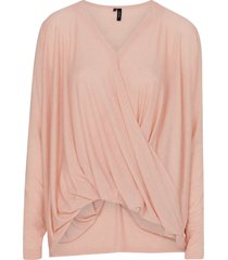 jumper vmmandy ls wrap top boo från vero moda