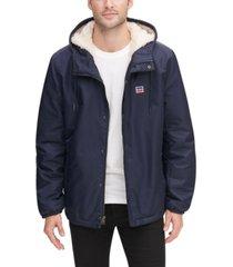 levi's men's fleece-lined coaches jacket