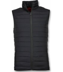 y chrom bodywarmer heren zwart