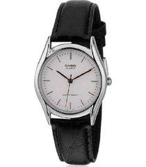 reloj casio ltp-1094e-7a analogo 100% original-blanco