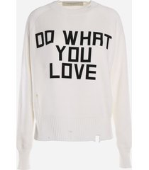 golden goose delilah sweater with print
